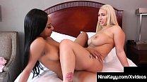 Sexy Snatch Sisters Nina Kayy & Lala Ivey Sciss