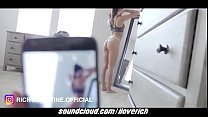 Sexy Brunette STEPSIS Milks My Cock And Makes Me Cum Twice thumbnail