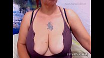 Busty mature chating lucky guy preview image
