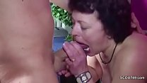 German Young Boy Caught Step-Mom Masturbate and get a Fuck Vorschaubild