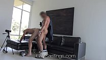 HD GayCastings - Hot straight guy with huge dick auditions for gay porn preview image