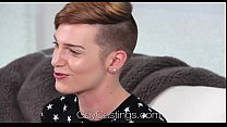 HD GayCastings - Young twink Lenox huge facial ...