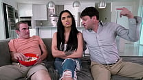 BANGBROS   Step Family Sex Trio With MJ Fresh