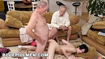 Old men having anal