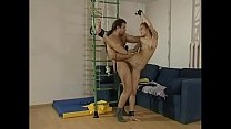 Slim and beautiful girl gets a harsh bdsm treatment.  Bdsmmasters.com preview image