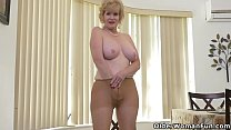 American granny Phoenix Skye shows her depraved...