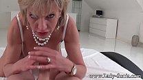 MILF Lady Sonia strip and suck intruders dick Vorschaubild
