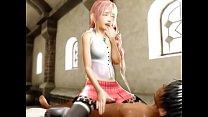 Final Fantasy Toon Hentai XXX- Hentaiflex.com Thumbnail