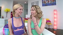HALEY REED AND LILY LABEAU DOLE OUT DOUBLE HELPINGS OF SLOPPY's Thumb