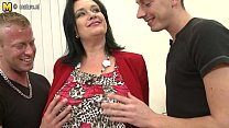 Sexy MOM suck and fuck not her SON and son --- ...