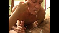 Grandpa's bisexual fun with younger couple thumb