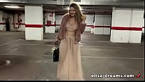 Flashing naked under my seethru outfit pornhub video