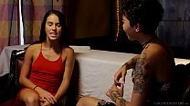 Amnesiac lesbian woman wants her memories # Megan Rain and Honey Gold thumbnail