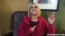 Maria Jade IRL Smoking Interview