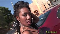 Big Ass Ebony Got Her Ass Fucked Hard by Bbc