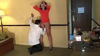 Bussiness woman satisfied in hotel room صورة