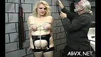 Naked sweethearts roughly playing in bondage xxx dilettante video Thumbnail