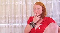 real redhead fucked hard by cock thumbnail