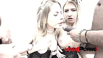 Sabrina Blanc & Goldie PMAO (piss my ass off orgy with 3 guys) RS085