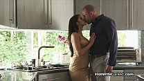 Exotic hotwife fucks with husbands approval