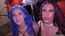 Alexxa Vice and Tyla Moore Join Bukkake Party