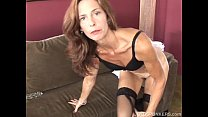 Slim old spunker in sexy stockings is feeling horny thumbnail