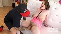12484 Huge tits teen slut Anna Blaze gets rammed hard by Bryan Gozzling preview