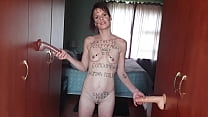 Skinny Petite Slut Dreams Of Having More Then O