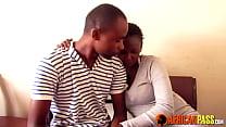 African Amateur Couple Hardcore Shower Sex