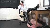Boot Fetish Femdom At The British Institution