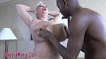 Huge Tit Claudia Marie Beat Down For Interracial Rough Fuck