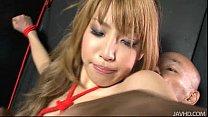Hatsuka Kobayashi tied up and teased until she cums Vorschaubild