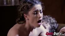 Babes Nina North and Kristen Scott enjoy in sex orgy thumbnail