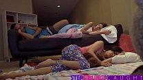 Trick Or Treat Fuck With My Hot Sister And Her Friend Vorschaubild