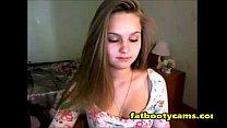 Innocent Teen Blonde losing Virginity - fatbootycams.com thumbnail