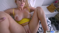 Foxy Stepmother Vanessa Cage Slamms With Stepson Image