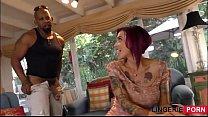 Image: tattooed redhead loves big cock - lingerie-porn.com