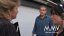 MMV Films Mature teacher having fun with a couple