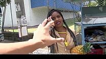 Big assed ebony Latina rides cock in steamy pickup and fuck - Cute Hard Porn thumbnail
