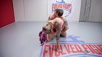 Tori Avano nude wrestling against a guy winner fucks loser thumbnail