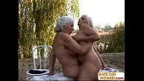 Old blondes open area lesbian sex