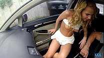 Alina West Banged In The Car