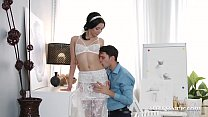 Private.com - Tiny Emily Bender Anal Pounded & Gets Facial! Image