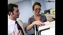 Hot temp two cock office fuck - free porn video