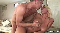 Tender blonde tart loves being drilled hard