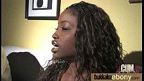Ebony Slut Gets An Interracial Group Sex 7