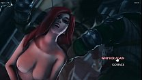 KATARINA anal FUCK - League of Legends - Porn Game