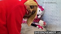 17709 Big Booty Ass Cheeks On Sexy Black Babe Panties Pulled Off Butt In Slow Motion , Msnovember In Doggystyle Position Get Pussy Exposed Then Laying Sideways With Thick Thighs On Tiny Body HD Sheisnovember preview