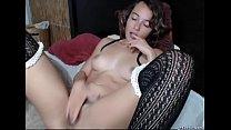 Pretty Teen Babe With Big Tits Masturbating