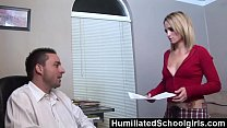 HumiliatedSchoolGirls - Melanie uses her tight ...